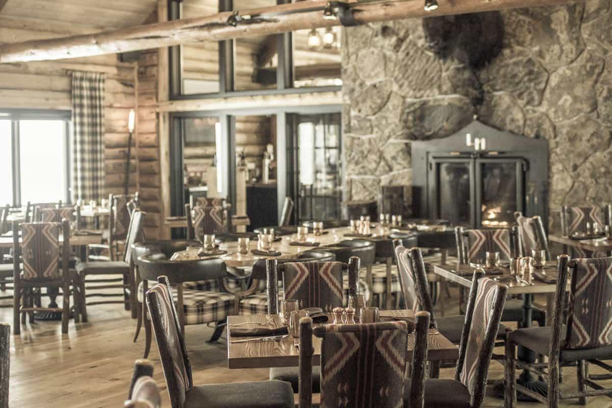 The dinning lodge